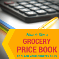 How to use a grocery price book from HousewifeHowTos.com