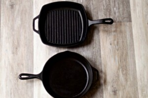 How To Clean Cast Iron Pans and Season Them