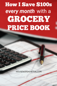 How to Save Money with a Grocery Price Book - In 5 minutes each week this trick cuts my grocery bill by HUNDREDS of dollars #savingmoney #savings #frugal #budgeting