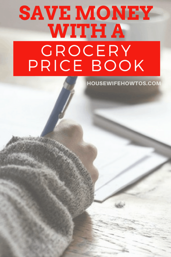 How to Use a Grocery Price Book - This trick to tracking prices lets me save HUNDREDS of dollars on groceries EVERY month! #savingmoney #frugal #groceryshopping #budgeting #couponing