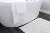 How to Wash Bathroom Rugs