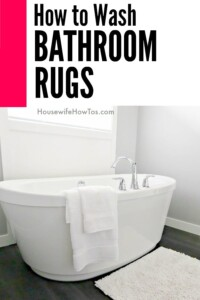 How To Wash Bathroom Rugs   This Got The Stains Out Without Ruining Them. #