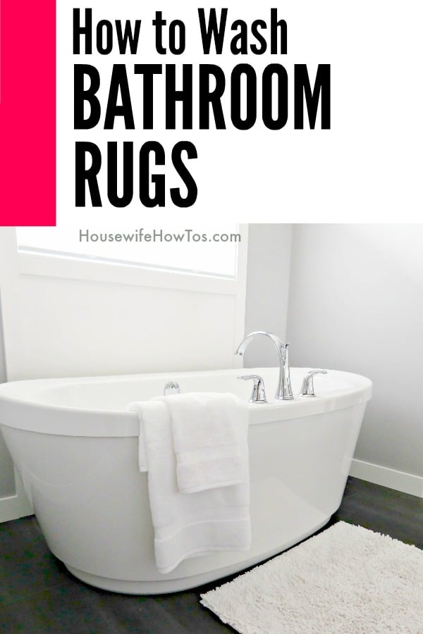 How To Wash Bathroom Rugs Without Ruining Them #laundry #laundryhack # Cleaning #bathroomcleanign