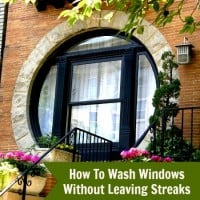 How to Wash Windows Without Leaving Streaks from HousewifeHowTos.com