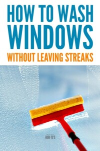How to Wash Windows without Leaving Streaks - Tips a professional window-washer taught me #cleaning #windowcleaning #housewifehowtos #householdtips #householdhints