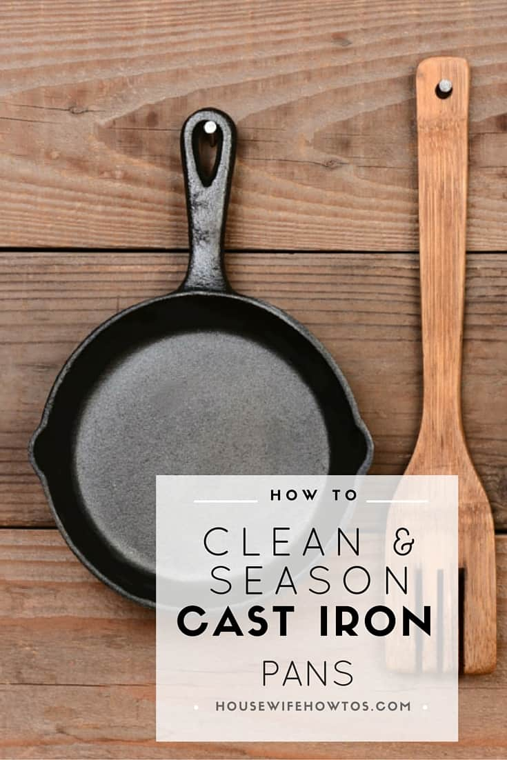 how to clean cast iron pans and season them housewife how to 39 s. Black Bedroom Furniture Sets. Home Design Ideas