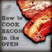 How to cook bacon in the oven from HousewifeHowTos.com