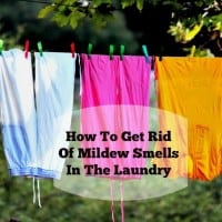 How to get rid of mildew smells in the laundry from HousewifeHowTos.com