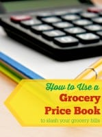 How to use a grocery price book from HousewifeHowTo