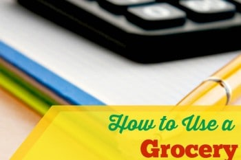 How To Use A Grocery Price Book
