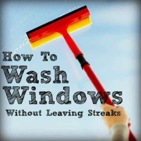 Homemade Window Cleaner 3 Ingredients You Already Have