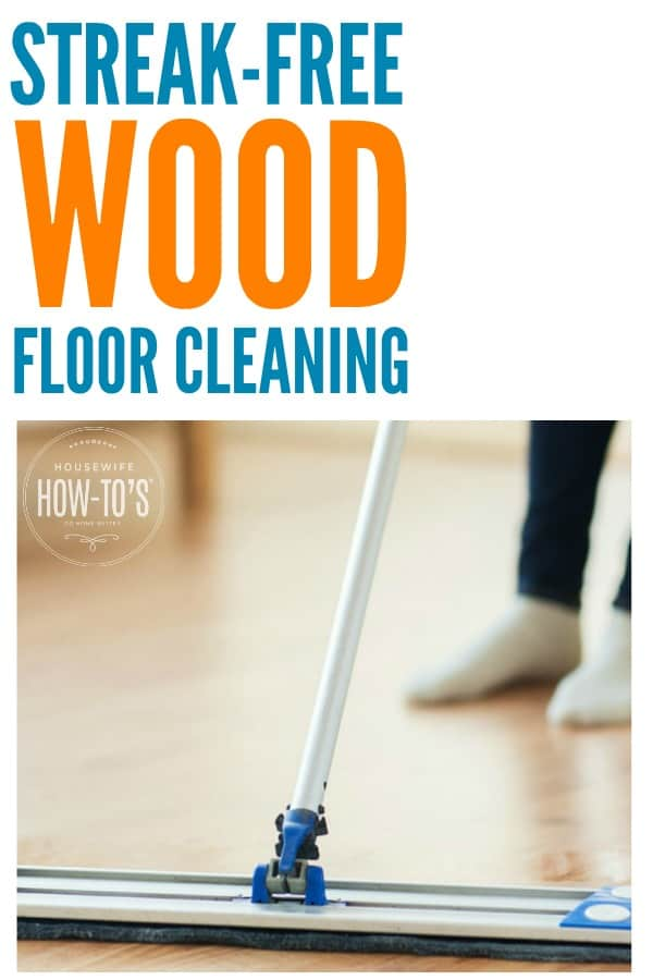 Wood Floors Properly & a DIY Cleaning