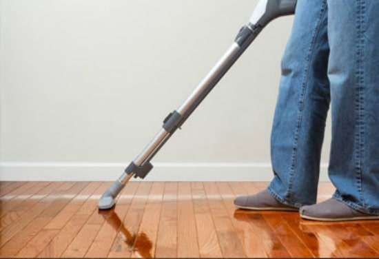 How to clean wood floors - Deep clean seasonally with a thorough vacuuming
