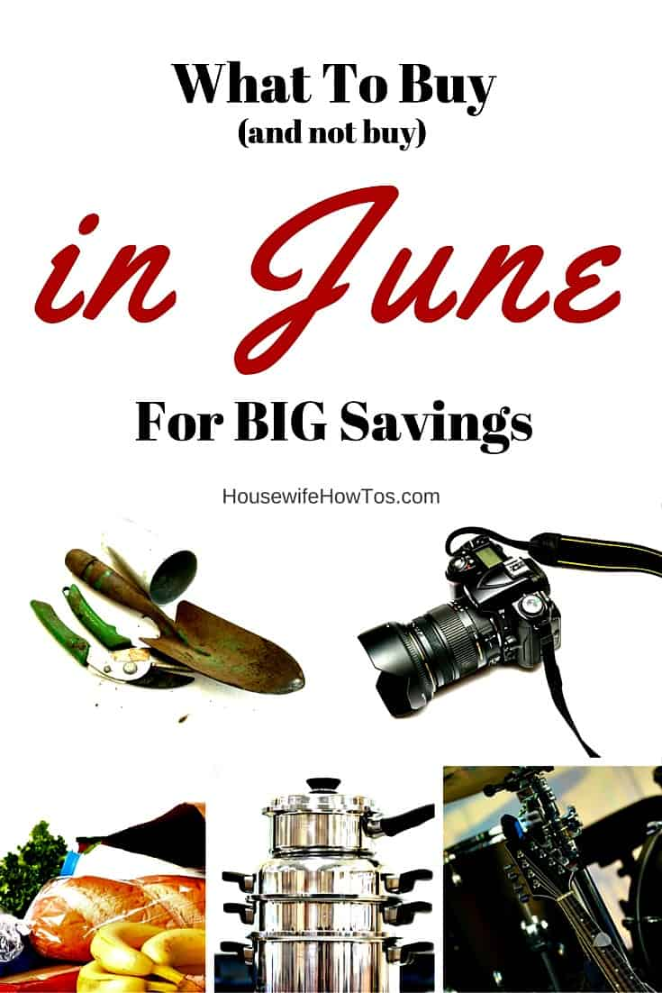 What to buy in June for big savings - and what not to buy