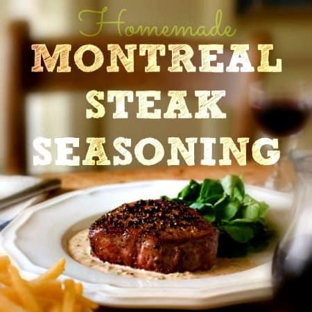 Homemade Montreal Steak Seasoning Recipe from HousewifeHowTos.com