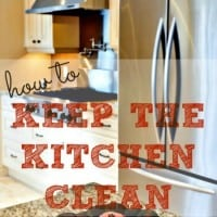 How to keep the kitchen clean from HousewifeHowTos.com