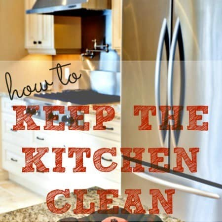 How to keep the kitchen clean 20 tips that work for How to keep the kitchen clean