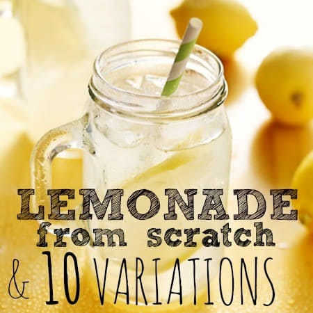 How to make lemonade from scratch from HousewifeHowTos.com