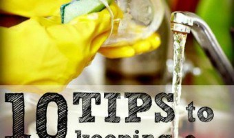 10 Tips to Keeping a Clean House