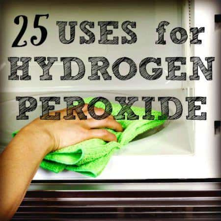 how to clean a cut with hydrogen peroxide