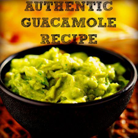 Football Foods - Authentic Guacamole recipe