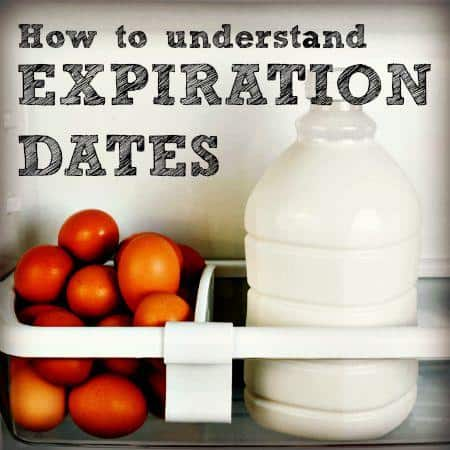 How to understand expiration dates when does food expire from HousewifeHowTos.com