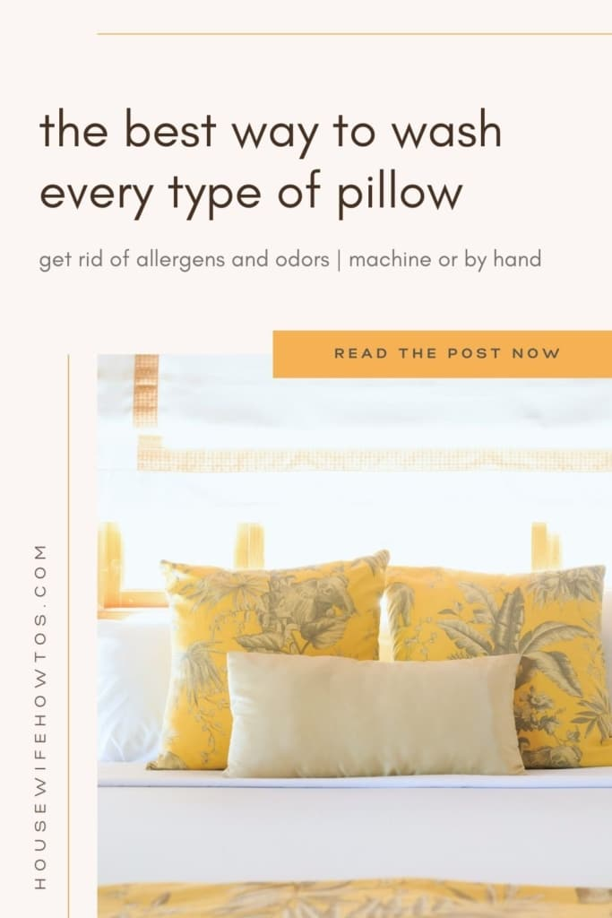 how-to-wash-pillows-down-foam-poly