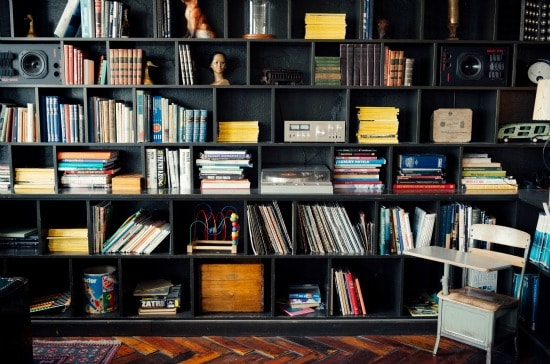 Choose an area to concentrate on and begin purging clutter