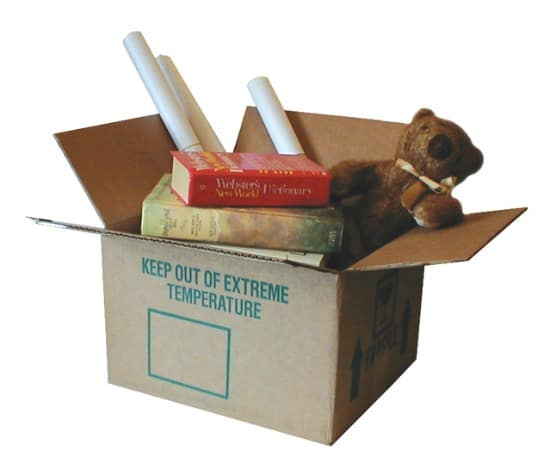 Stop household clutter by getting rid of things that do not deserve a permanent place in your home