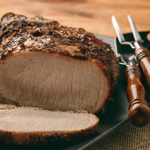 Dijon and Hern Pork Loin Recipe