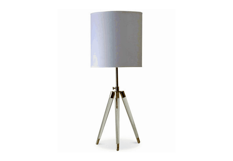 clean fabric lampshade