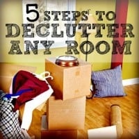 5 Tips How to declutter from HousewifeHowTos.com