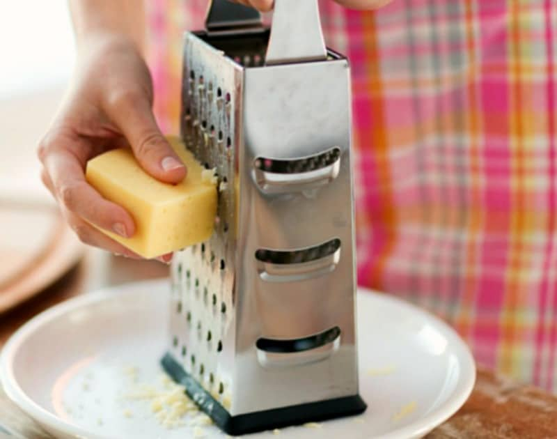 Cheese Grater Cooking Hacks
