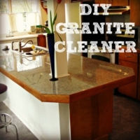 DIY Granite Cleaner Recipe