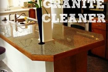DIY Granite Cleaner Recipe