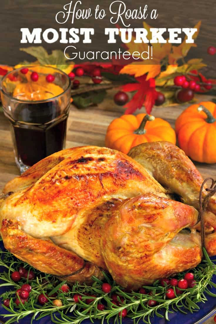 How To Roast A Moist Turkey Super Easy Recipe For