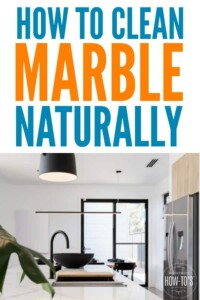 How to Clean Marble Naturally - Remove stains and clean your marble surfaces with these natural ingredients and tips. #marble #marblecounters #marblevanity #marblefloors #marblecleaning #howtoclean #marblecleaner #marblepolish #naturalcleaning #diycleaner #housewifehowtos #householdtips #howtoclean