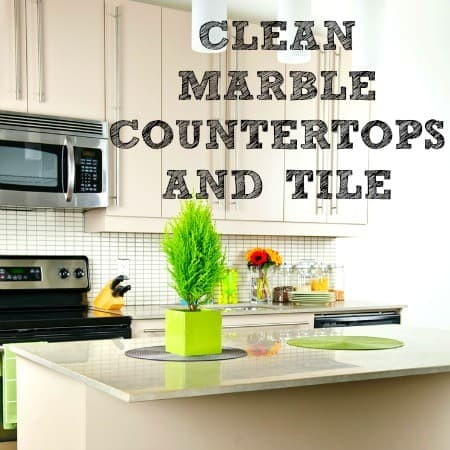 How To Clean Marble Naturally From HousewifeHowTos.com