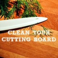 How To Clean Your Cutting Board