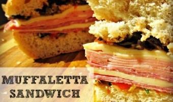 Muffaletta Sandwich Recipe: This is football food!