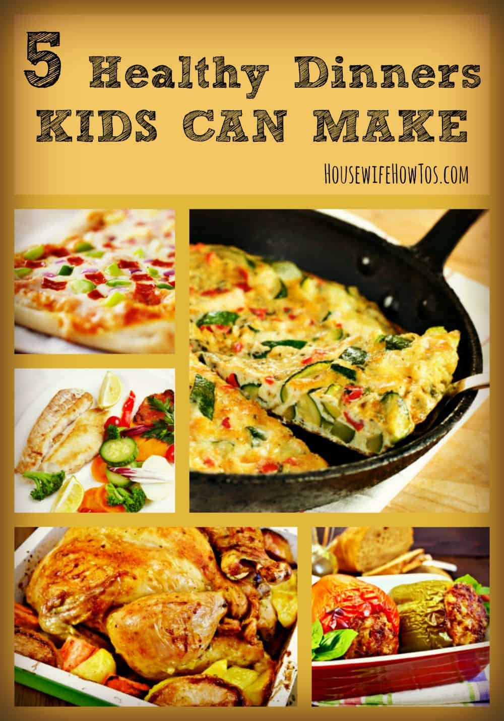 Dont Teach Your Kids To Cook Unhealthy Convenience Foods These 5 Healthy Recipes