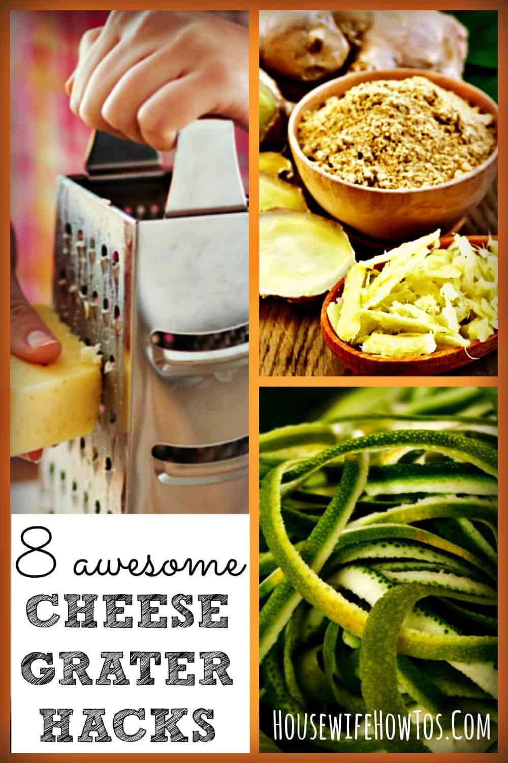 Think your cheese grater is just for cheese? Think again! Check out these 8 Cheese grater #hacks. Number 8 is awesome!