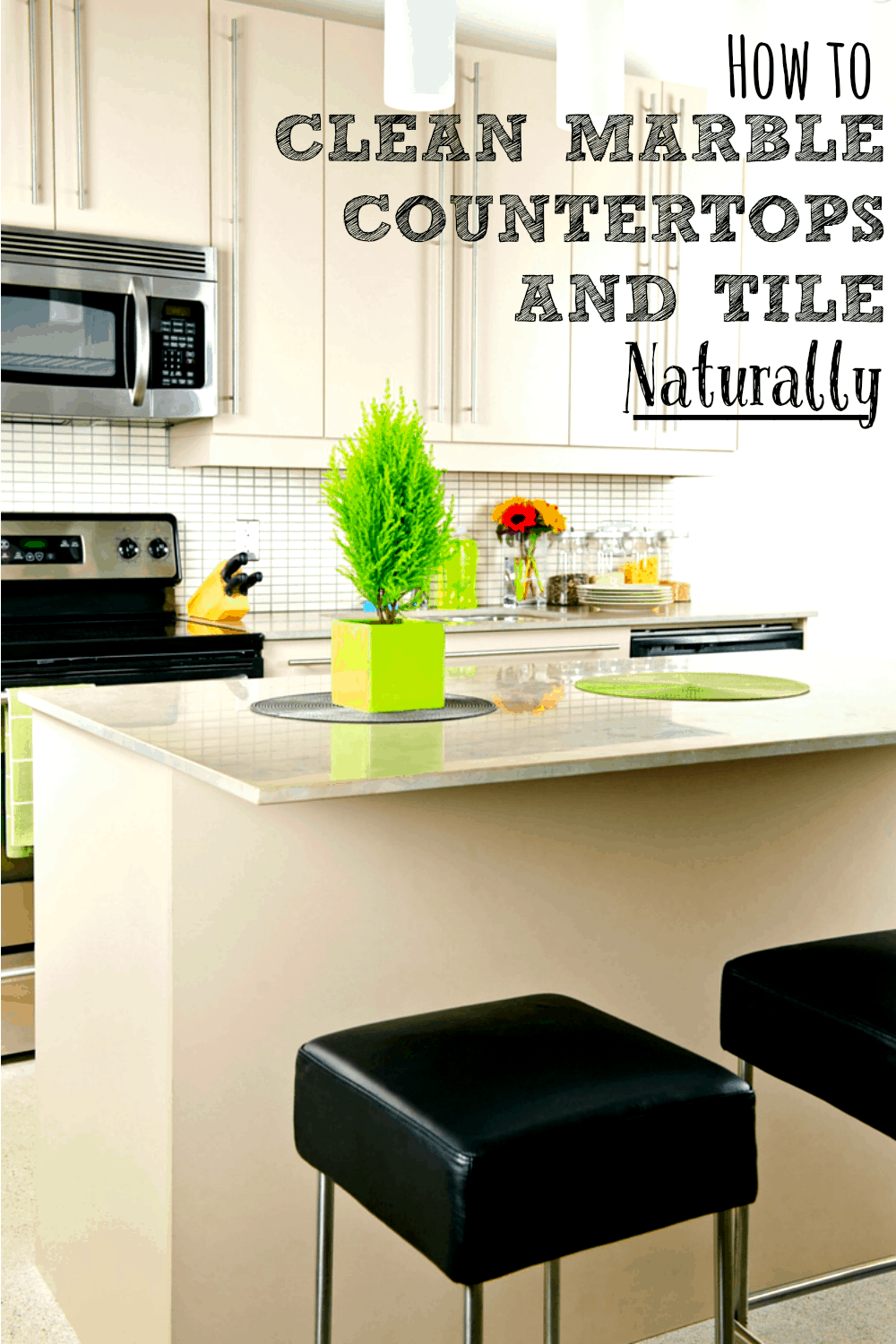 Marble Counters And Tiles Are Gorgeous, But Most Homemade Cleaners Can  Damage Them. This
