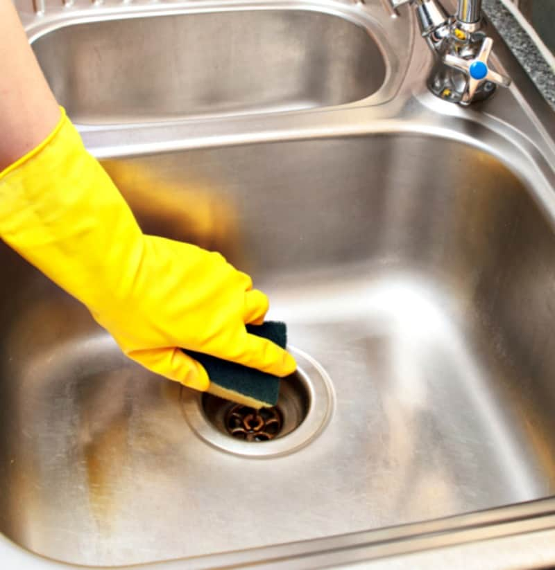 Daily Sink Spray: Deodorize, Disinfect, Shine » Housewife How-Tos®