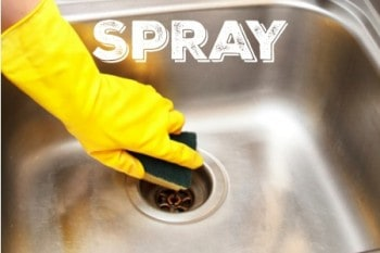 Daily Sink Spray: Deodorize, Disinfect, Shine