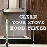 How To Clean Stove Hood Filters
