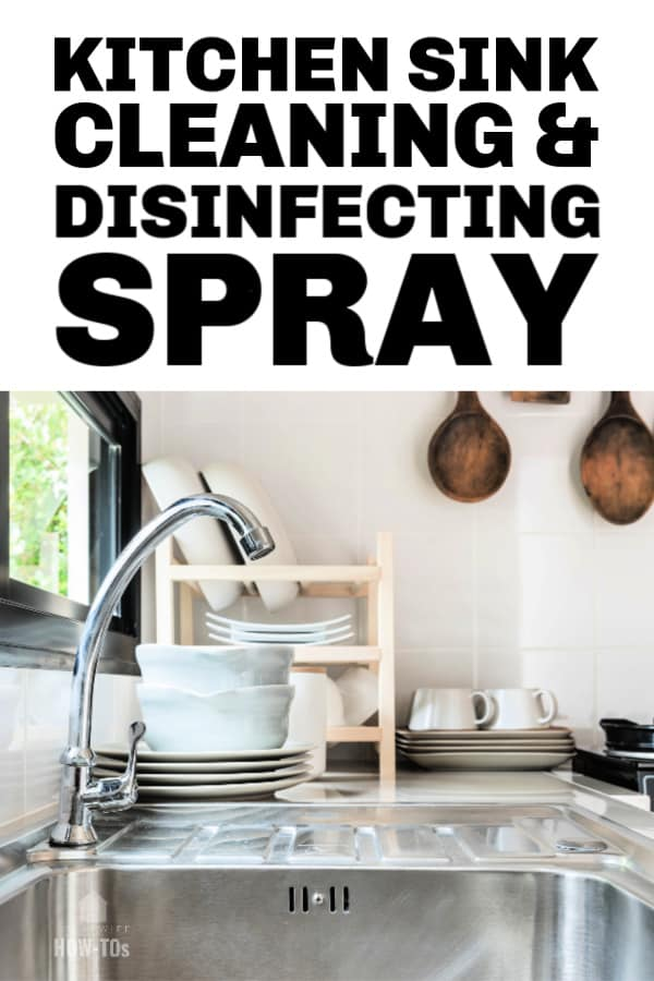 Kitchen Sink Cleaning and Disinfecting Spray