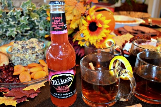 Make Mikes Hard Lemonade part of your Thanksgiving spread