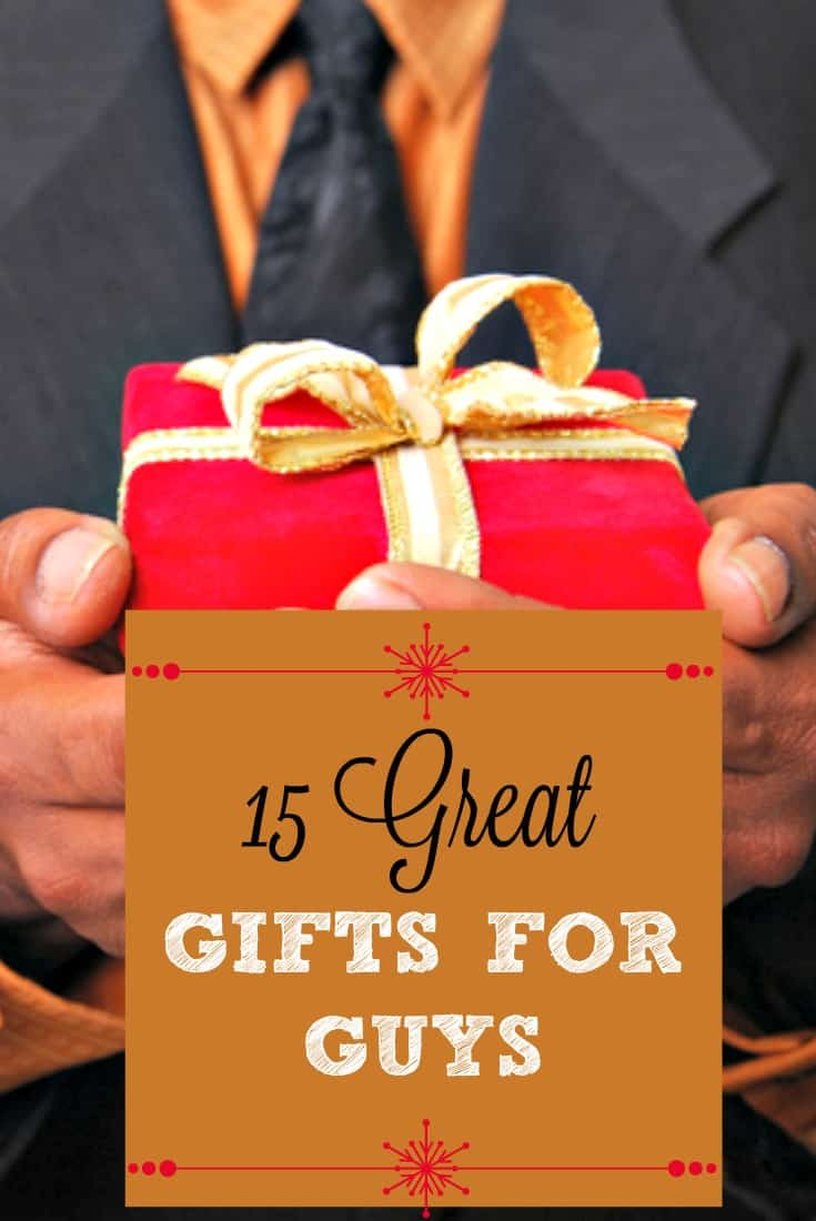 Pin 15 Great Gifts For Guys Gift Guide