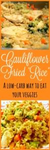 Pin Cauliflower Fried Rice Recipe